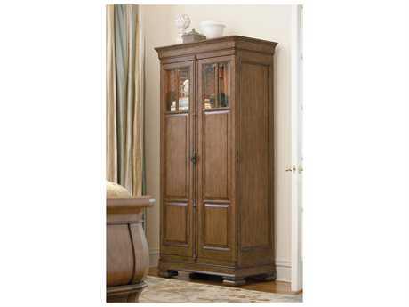 Universal Furniture New Lou 38''L x 21''W Cognac Wardrobe Armoire UF071160