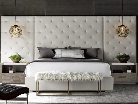 Universal Furniture Modern Quartz California King Platform Bed