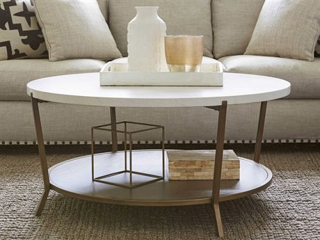 Universal Furniture Playlist 42'' Round Brown Eyed Girl Cocktail Table UF507818