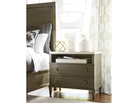 Universal Furniture Playlist 32''L x 17''W Brown Eyed Girl Two Drawer Nightstand UF507351