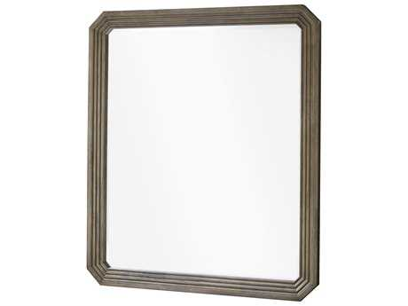 Universal Furniture Playlist 44''W x 38''H Brown Eyed Girl Rectangular Wall Mirror UF50704M
