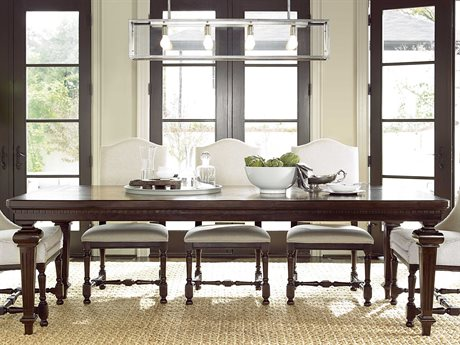 Universal Furniture Proximity 101''L x 45''W Rectangular Sumatra Dining Table UF356653