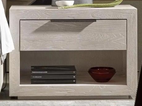 Universal Furniture Modern Quartz / Bronze 1 Drawer Nightstand