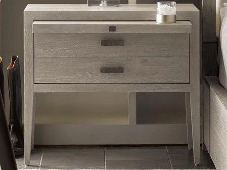 Universal Furniture Modern Flint / Bronze 1 Drawer Nightstand