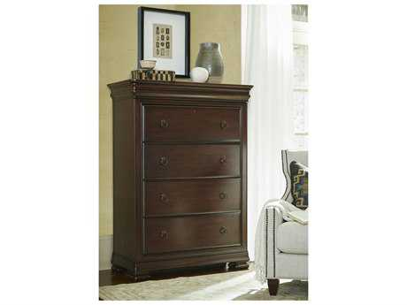 Universal Furniture Reprise 42''L x 20''W Rustic Cherry Chest of Drawers UF581155