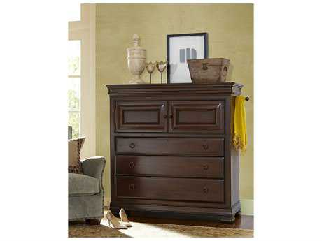 Universal Furniture Reprise 54''L x 20''W Rustic Cherry Dressing Chest of Drawers UF581175