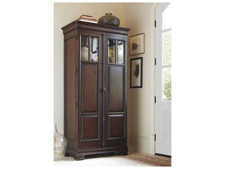Universal Furniture Reprise 38''L x 21''W Rustic Cherry Tall Cabinet Wardrobe UF581160