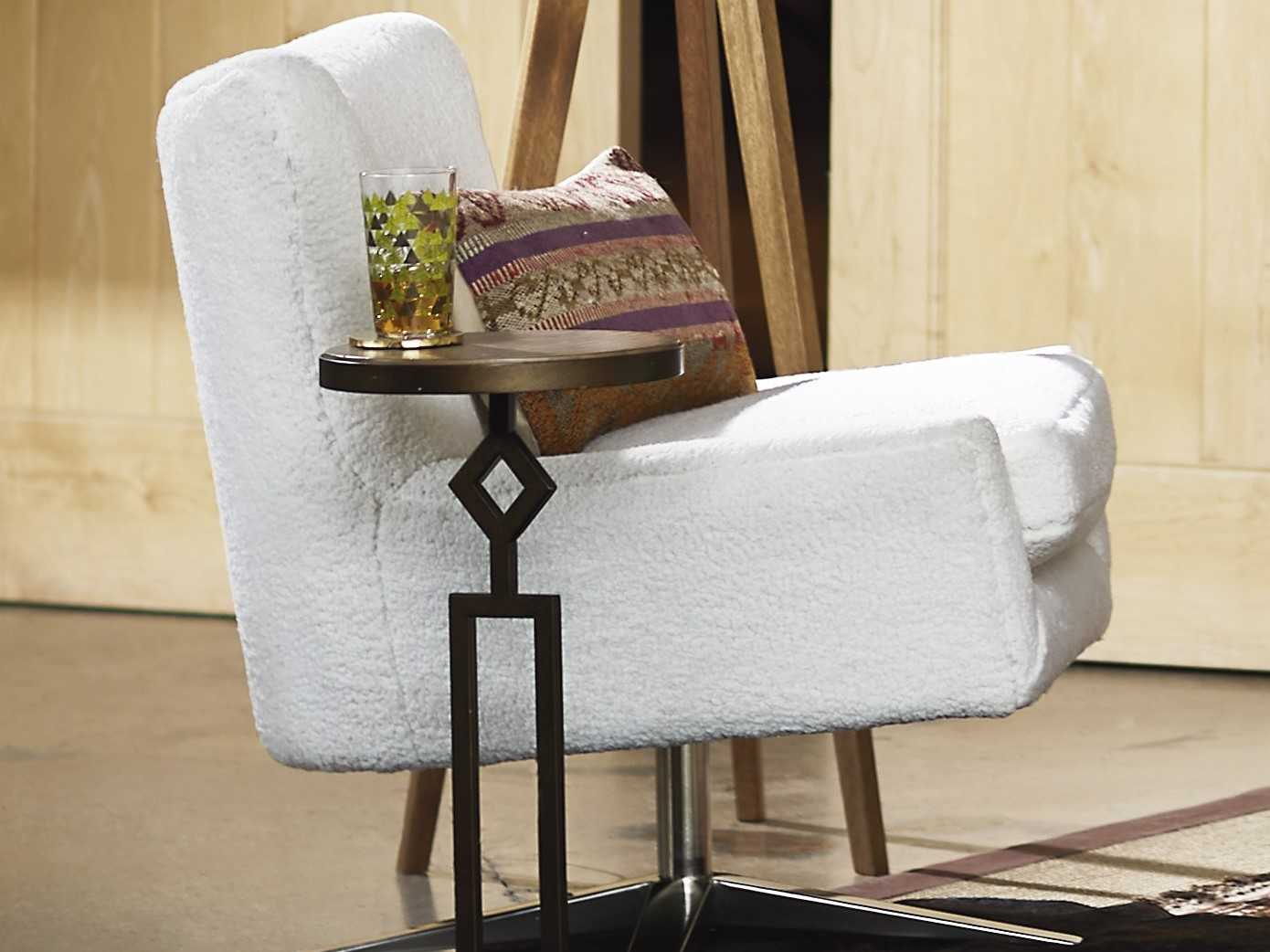 Excellent Universal Furniture Everette Natural Sheepskin Accent Chair Pabps2019 Chair Design Images Pabps2019Com