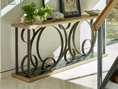 Universal Furniture Sand 80'' Wide Rectangular Console Table