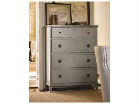 Universal Furniture Sojourn Grey Lake 4 Drawers Chest of