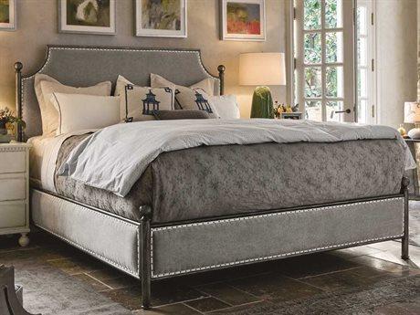 Universal Furniture Sojourn Metal Respite King Size Metal Panel Bed UF543B290B