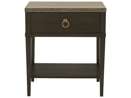 Universal Furniture Soliloquy Cocoa / Metal 1 Drawer Nightstand