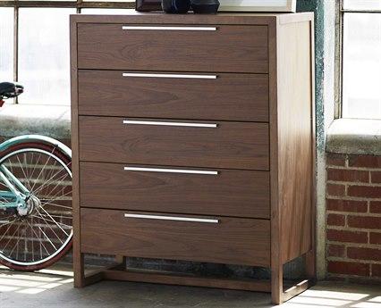 Universal Furniture Spaces Parker Walnut Five-Drawer Chest UF871150