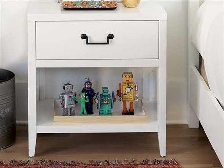 Universal Furniture Spaces Anson Meringue One-Drawer Nightstand
