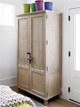 Universal Furniture Spaces Aiden Oatmeal Armoire UF873160