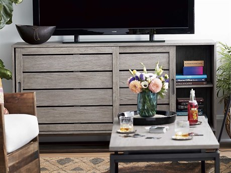 Universal Furniture Spaces Easton Granite 64'' x 16'' Media Cabinet UF872966
