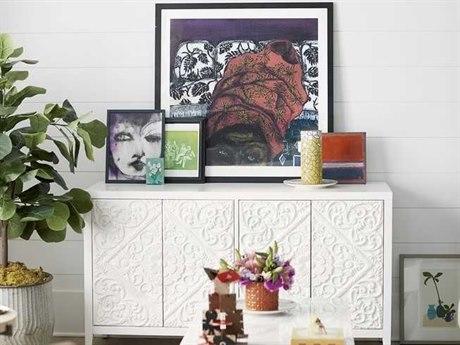 Universal Furniture Spaces Dawson Meringue 58'' x 19'' Media Cabinet UF875966
