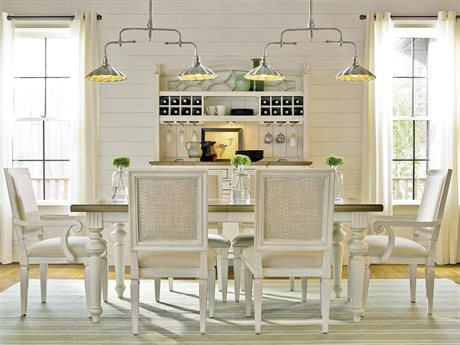 Universal Furniture Summer Hill Cotton Dining Set