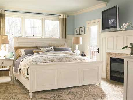 Universal Furniture Summer Hill Cotton Panel Bed Bedroom Set