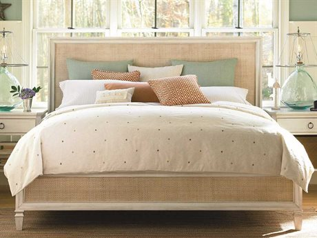 Universal Furniture Summer Hill Cotton California King Size Woven Panel Bed