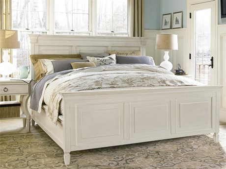 Universal Furniture Summer Hill Cotton King Panel Bed