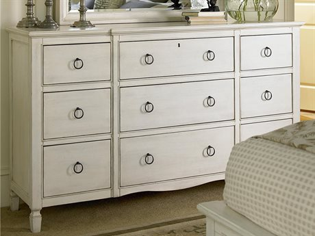Universal Furniture Summer Hill Cotton 8 Drawers and up Triple Dresser
