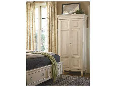 Universal Furniture Summer Hill Cotton Wardrobe Armoire