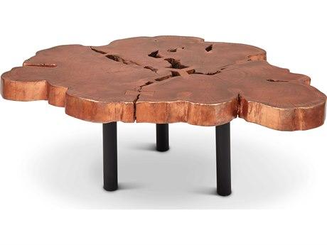 Urbia Aeris Copper / Black 40-50'' Wide Coffee Table