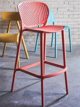 Urbia Bailey Mild Orange Side Bar Height Stool (Sold in 4) URBCDHBLYBSMOR