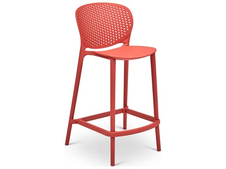 Urbia Bailey Mild Orange Side Counter Height Stool (Sold in 4) URBCDHBLYCSMOR