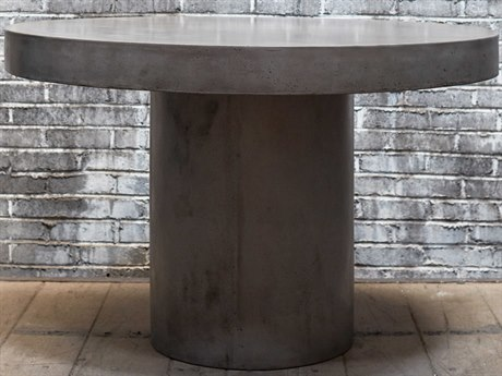 Urbia Circa Dark Grey 60'' Wide Round Dining Table URBVGSCIRCADT5