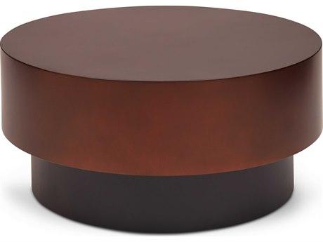Urbia Bronze 36'' Wide Round Coffee Table URBIEBENTONCTBRZ