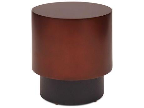 Urbia Bronze 19'' Wide Round Drum Table URBIEBENTONETBRZ