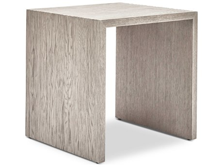Urbia Justine Grey 22'' Wide Rectangular End Table