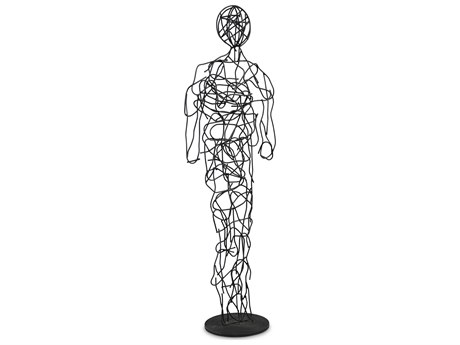 Urbia Mister Black Sculpture