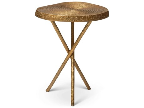 Urbia Ojas Antique Brass 15'' Wide End Table