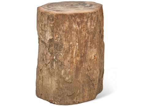Urbia Stump Natural Light Accent Stool URBIPJSTUMPTPLT