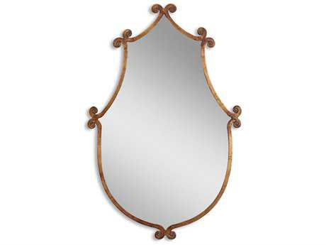 Uttermost Ablenay 24 x 37 Antique Gold Wall Mirror UT13648