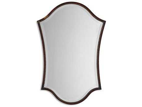 Uttermost Abra 20 x 30 Bronze Vanity Wall Mirror