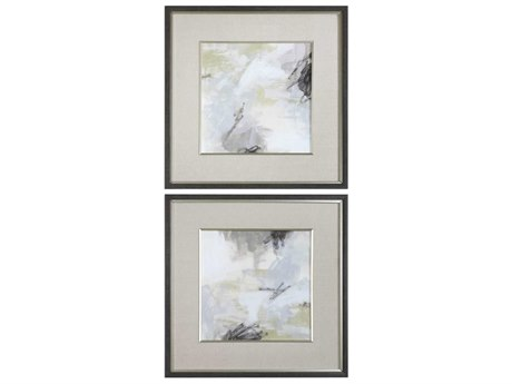 Uttermost Abstract Vistas Glass Wall Art UT33673
