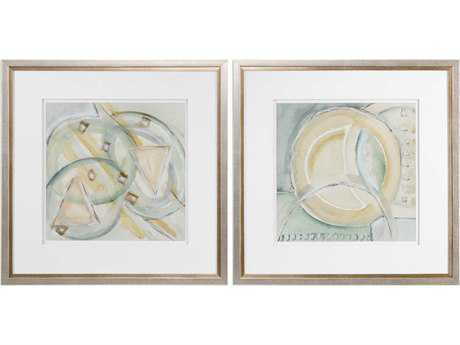 Uttermost Abstracts Framed Prints (Set of Two) UT33657