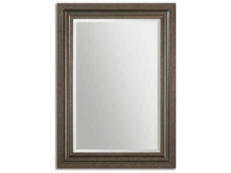 Uttermost Adalwin 32 x 44 Dark Bronze Wall Mirror UT14247
