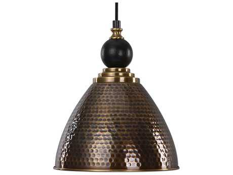Uttermost Adastra Antique Brass Pendant UT22052