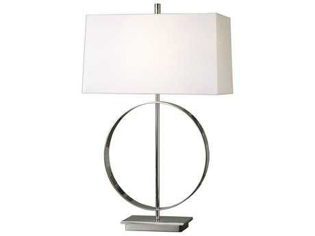 Uttermost Addison Polished Nickel Table Lamp UT271531