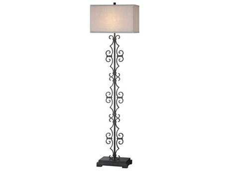 Uttermost Adelardo Rust Bronze Floor Lamp UT28132