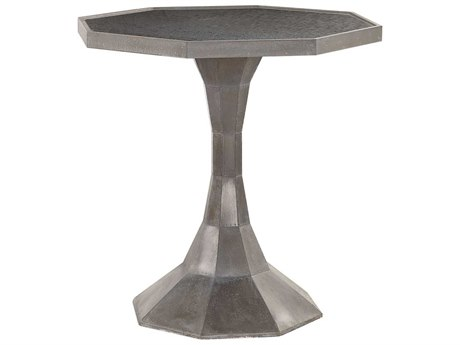 Uttermost Aharon 26'' Wide Octagon Pedestal Table UT24861
