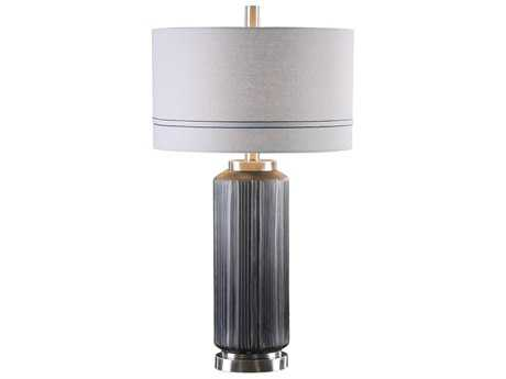 Uttermost Akila Dark Charcoal Table Lamp