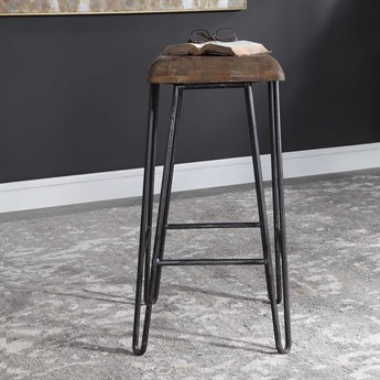 Uttermost Albie Side Bar Height Stool UT24870