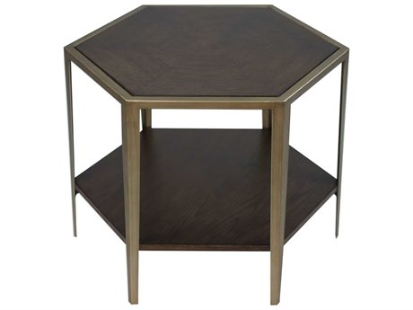 Uttermost Alicia 24'' Wide Hexagon End Table UT25314