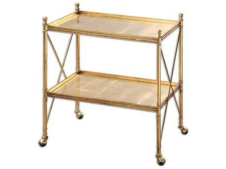 Uttermost Amaranto Gold Serving Cart UT24464